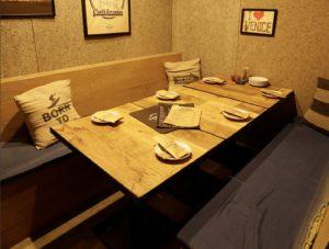 所沢の個室がある美味しい居酒屋⑨:所沢の個室イタリアン CANTINA