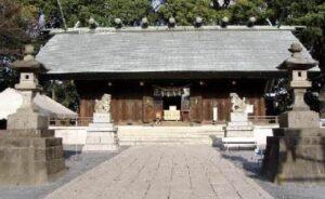 所沢のご利益のある神社①:所澤神明社