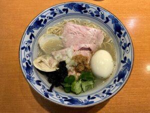 㐂九八(キクヤ)の三種の貝出汁潮そば