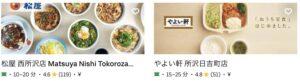 Uber Eats(ウーバーイーツ)西所沢駅周辺エリアの人気店舗2