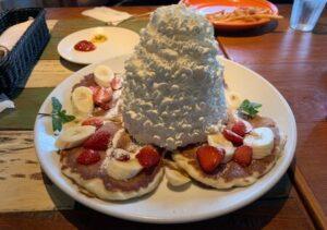 所沢のコナズ珈琲でパンケーキを実食