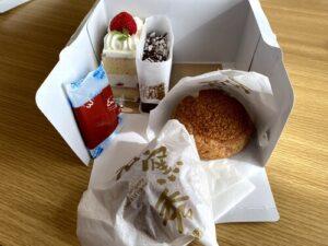 エミールのシュークリームとケーキを実食!