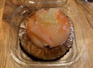 ベルテコで購入したパン②:桃のペストリー